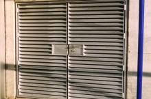 Anodized Louvre Doors